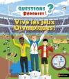Couverture Vive les jeux olympiques Editions Nathan (Questions / Réponses) 2016