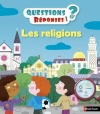 Couverture Les religions Editions Nathan (Questions / réponses) 2016