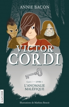 Couverture Victor Cordi, cycle 1, tome 1 : L'anomalie maléfique