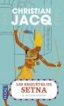 Couverture Les enquêtes de Setna, tome 2 : Le livre interdit Editions Pocket 2016