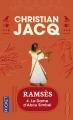 Couverture Ramsès, tome 4 : La dame d'Abou Simbel Editions Pocket 1998