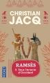 Couverture Ramsès, tome 5 :  Sous l'acacia d'occident Editions Pocket 1998