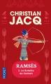 Couverture Ramsès, tome 3 : La bataille de Kadesh Editions Pocket 2015