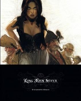 Couverture Long John Silver, tome 3 : Le labyrinthe d'émeraude