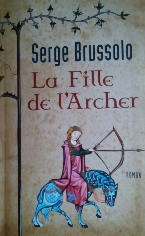 Couverture La fille de l'archer