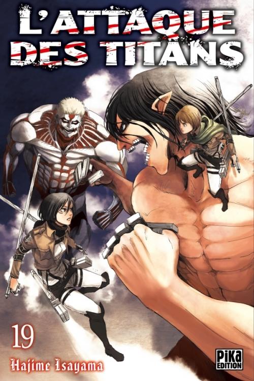 Couverture L'attaque des Titans, tome 19