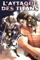 Couverture L'attaque des Titans, tome 19 Editions Pika (Seinen) 2016