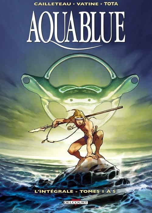 Couverture Aquablue, intégrale, tome 1
