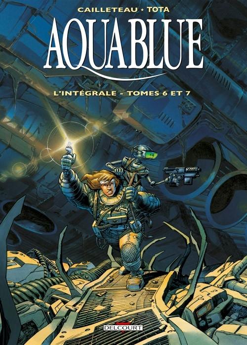 Couverture Aquablue, intégrale, tome 2