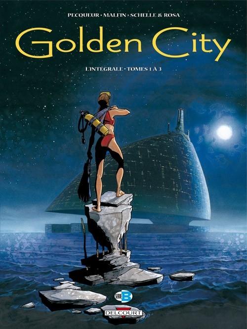 Couverture Golden City, intégrale, tome 1