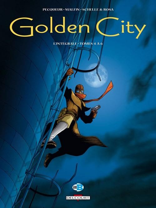 Couverture Golden City, intégrale, tome 2