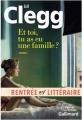 Couverture Et toi, tu as une famille ? Editions Gallimard  (Du monde entier) 2016