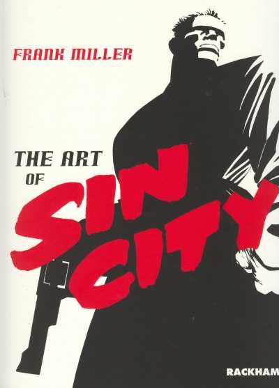 Couverture The Art of Sin City
