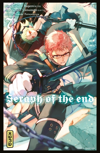 Couverture Seraph of the end, tome 07