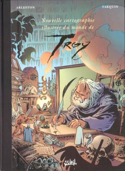 Couverture Lanfeust de Troy, hors-série : Cartographie illustrée du monde de Troy