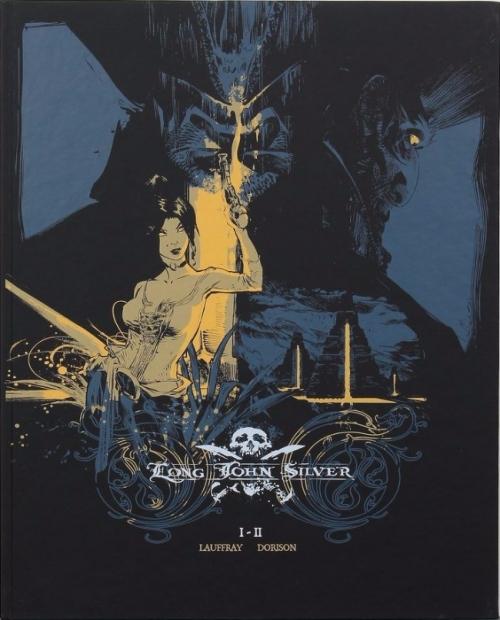 Couverture Long John Silver, intégrale N&B, tome 1