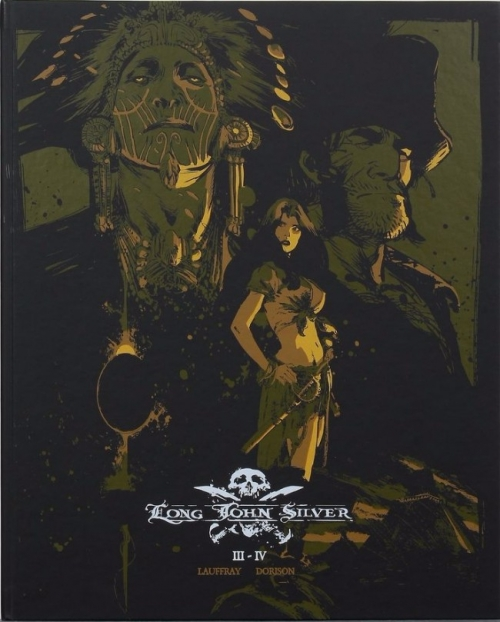 Couverture Long John Silver, intégrale N&B, tome 2
