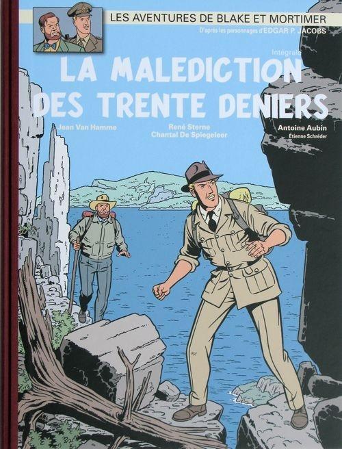 Couverture Blake et Mortimer : La Malédiction des Trente Deniers, intégrale