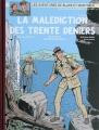 Couverture Blake et Mortimer : La Malédiction des Trente Deniers, intégrale Editions Bruno Graff 2011