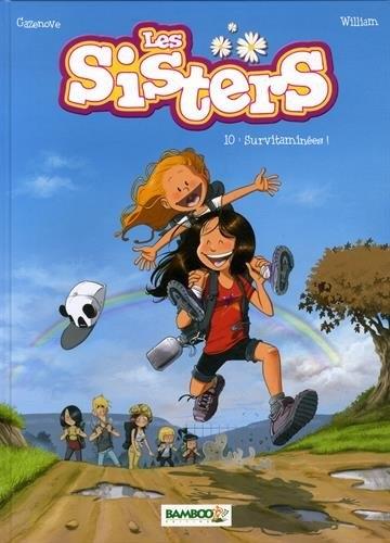 Couverture Les sisters, tome 10 : Survitaminées !