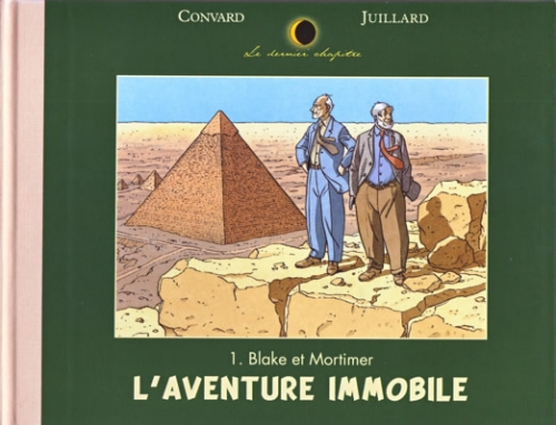 Couverture Blake et Mortimer : L'aventure immobile