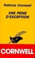 Couverture Une peine d'exception, La séquence des corps Editions du Masque 1994
