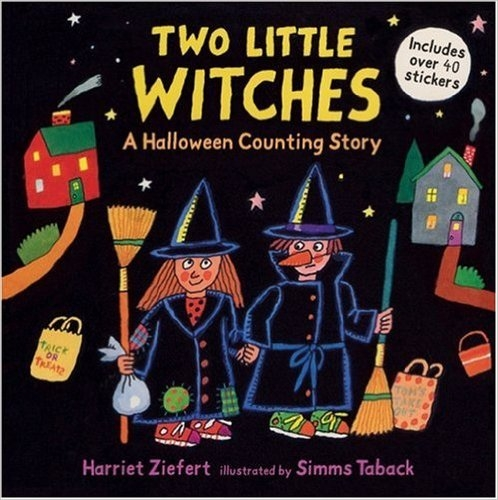 Couverture Two Little Witches: A Halloween Counting Story