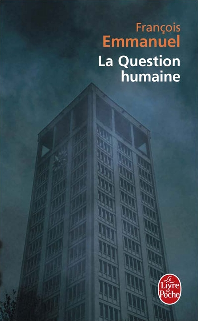 Couverture La Question humaine
