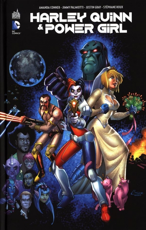 Couverture Harley Quinn & Power Girl