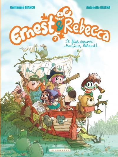 Couverture Ernest & Rebecca, tome 7 :  Il faut sauver Monsieur Rébaud !