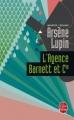 Couverture L'agence Barnett et cie Editions Le Livre de Poche 1974