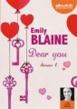 Couverture Dear you, intégrale, tome 1 Editions Audiolib 2016