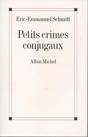 Couverture Petits crimes conjugaux