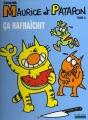 Couverture Maurice et Patapon, tome 2 : Ça rafraichit Editions Hoëbeke (BD/Humour) 2006
