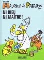 Couverture Maurice et Patapon, tome 5 : Ni Dieu, ni maître ! Editions Charlie Hebdo 2012