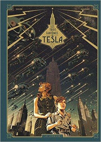 Couverture Les trois fantômes de Tesla, tome 1 : Le mystère Chtokavien