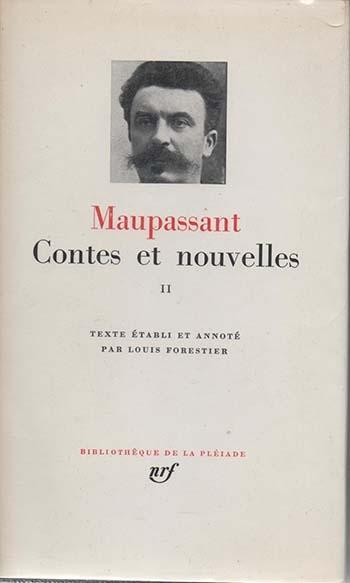 Couverture Contes et nouvelles, tome 2 (Maupassant Pléiade)