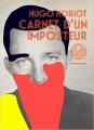 Couverture Carnet d'un imposteur Editions L'Iconoclaste 2016
