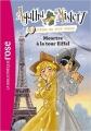 Couverture Agatha Mistery : Enquêtes en tout genre, tome 5 : Meurtre à la tour Eiffel Editions Hachette (Bibliothèque rose) 2013