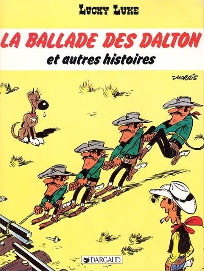 Couverture Lucky Luke, tome 48 : La Ballade des Dalton et autres histoires
