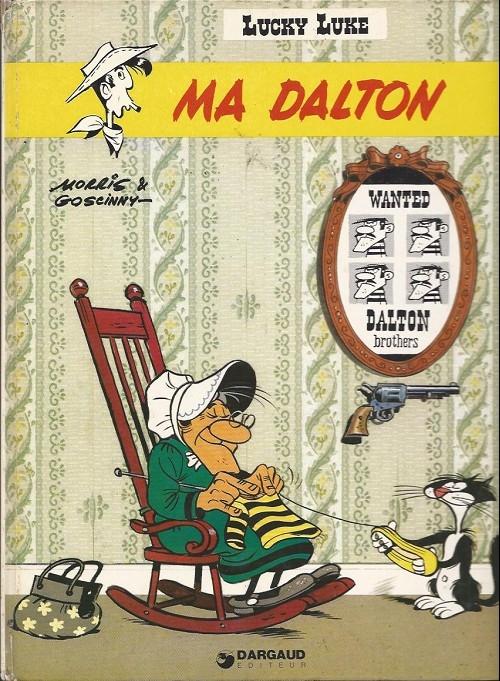 Couverture Lucky Luke, tome 38 : Ma Dalton