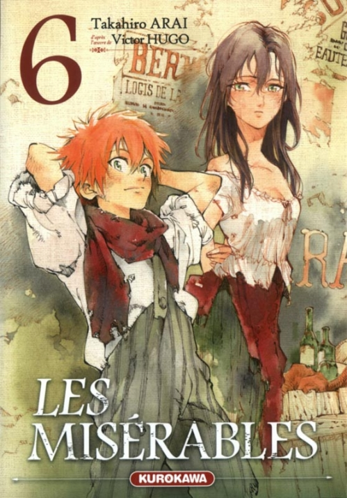 Couverture Les Misérables (manga), tome 6