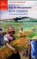 Couverture Aux champs et autres nouvelles Editions Librio (Littérature) 2016