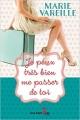 Couverture Je peux très bien me passer de toi Editions Guy Saint-Jean 2016