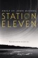 Couverture Station eleven Editions Alto 2016