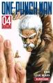 Couverture One-punch man, tome 04 Editions Kurokawa 2016