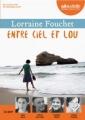 Couverture Entre ciel et Lou Editions Audiolib 2016