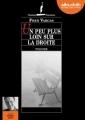Couverture Un peu plus loin sur la droite Editions Audiolib (Suspense) 2016