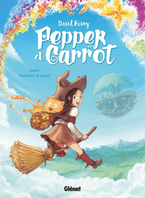 Couverture Pepper et Carrot, tome 1 : Potions d'envol