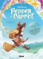 Couverture Pepper et Carrot, tome 1 : Potions d'envol Editions Glénat 2016